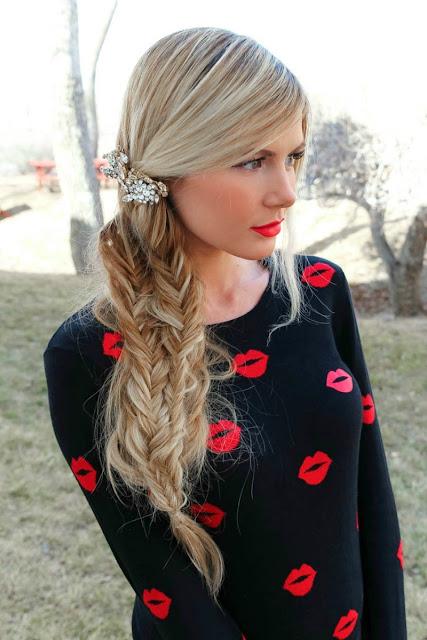 peinados para fiesta cabello suelto