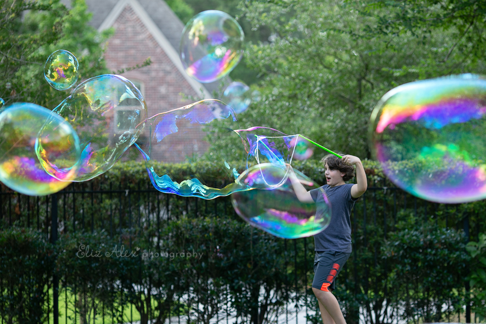 giant bubbles the woodlands texas