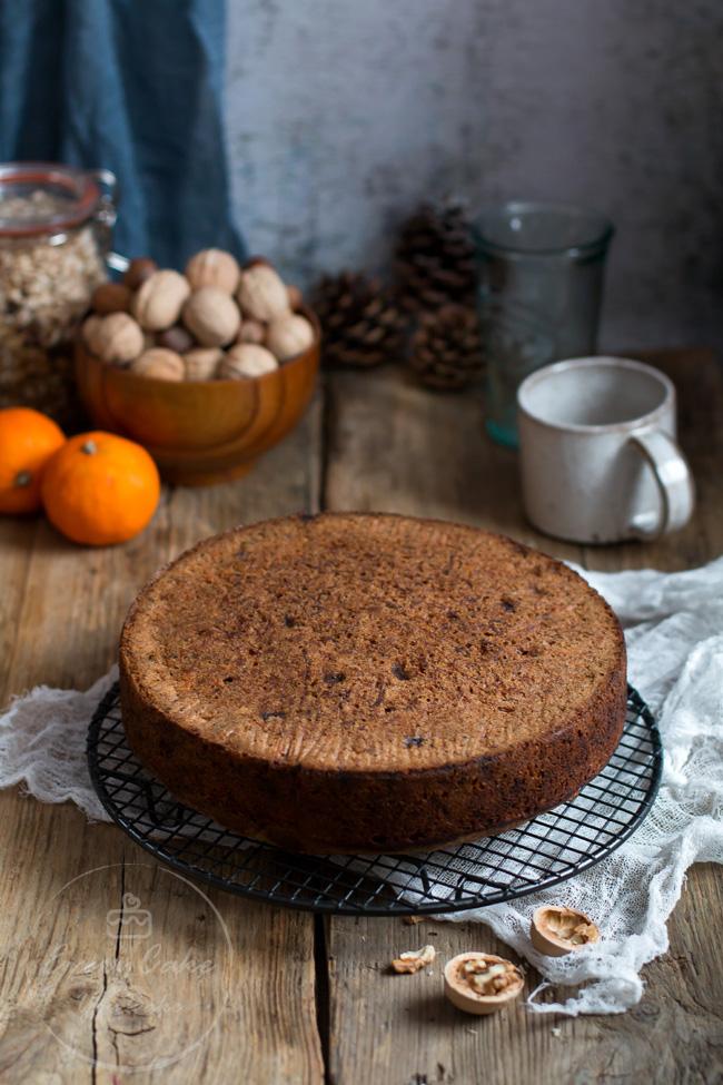 ciasto z pasternakiem, pomarańczą i kremem twarożkowym