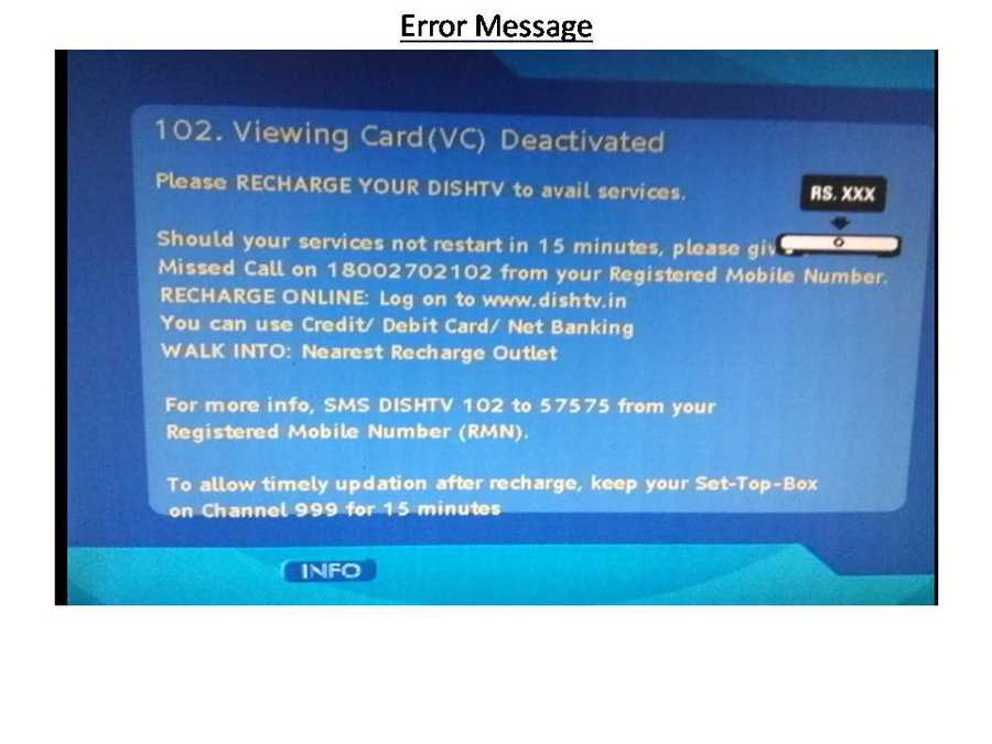 How to refresh my Dish tv online - Tech Solutions