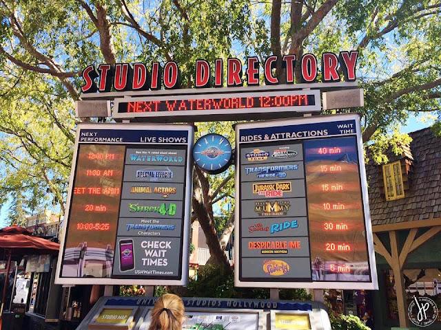 theme park schedule