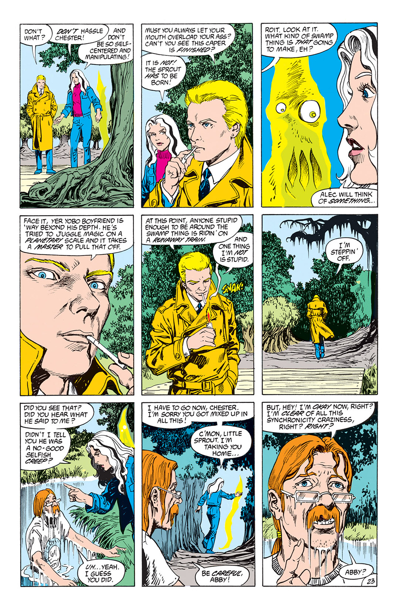Swamp Thing (1982) Issue #73 #81 - English 24