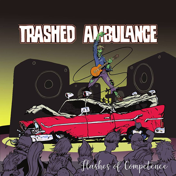"""Trashed Ambulance release video for """"Dogs Chase Cars"""""""
