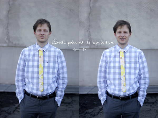 free skinny tie pattern