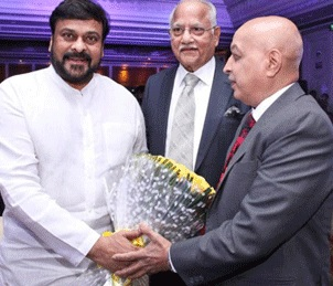Chiranjeevi At Apollo Dr Vijay Dixit's Felicitation Photos