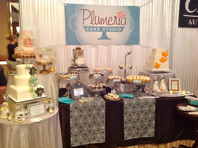 Wedding Expo Booth: Plumeria Cake Studio: Our Bridal Expo Booth