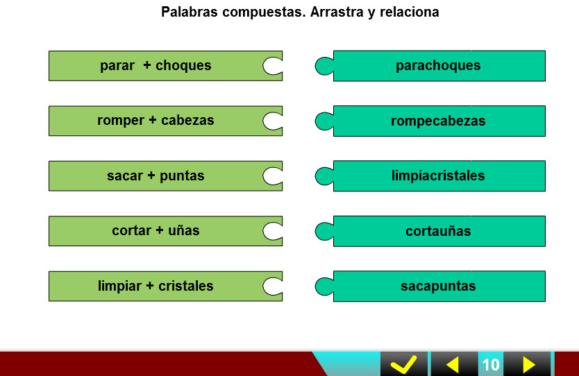 CRA LOPE DE VEGA: 2º T. 8 PALABRAS COMPUESTAS, EL NÚMERO, PALABRAS ...