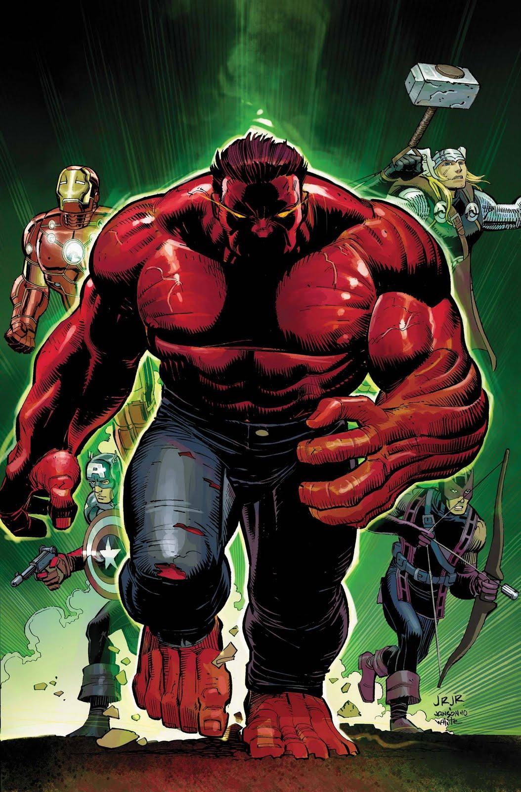Marveleando con los huevonazos red hulk taddeus e ross - Pictures of red hulk ...