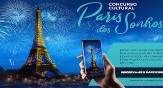 Concurso Cultural Paris dos Sonhos