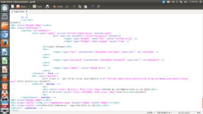 html hotspot login mikrotik