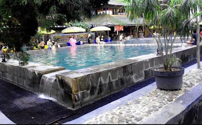 kolam pemandian air panas ciater