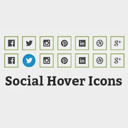 Adding Social Hover Icons to Your Blog