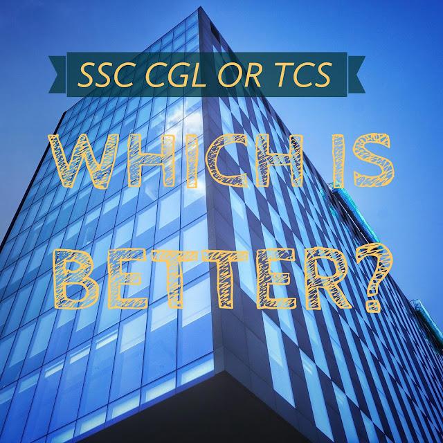 ssc cgl or TCS