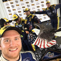 Fog Rolls In Rookie's First #NASCAR Sprint Cup Victory
