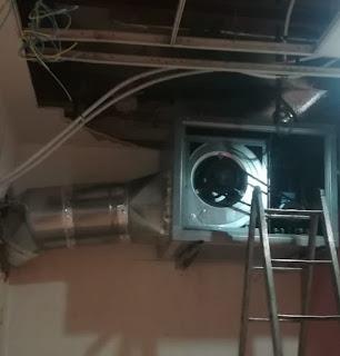 foto caja extracción para dos campanas