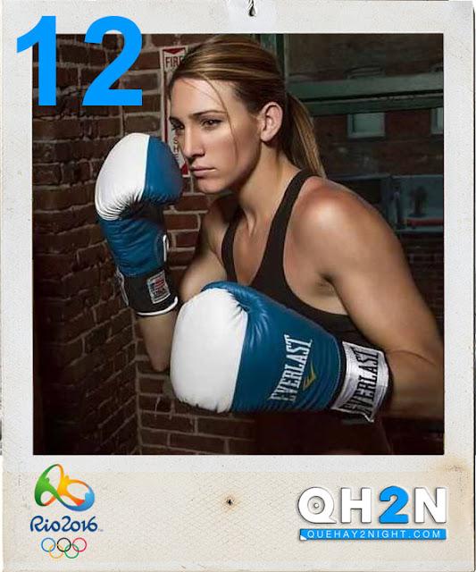 boxeadora Mikaela Mayer rio 2016 hot fotos pics