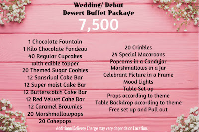 Wedding Dessert buffet Package