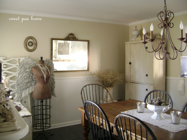 The Dining Room Now In Beautiful Whites