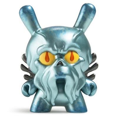 "New York Comic Con 2016 Exclusive Metallic Blue Howie Phillips Dunny 3"" Vinyl Figure by Scott Tolleson x Kidrobot"