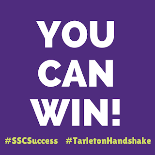 You Can Win! featuring #SSCSuccess and #TarletonHandshake at the Bottom of the Image