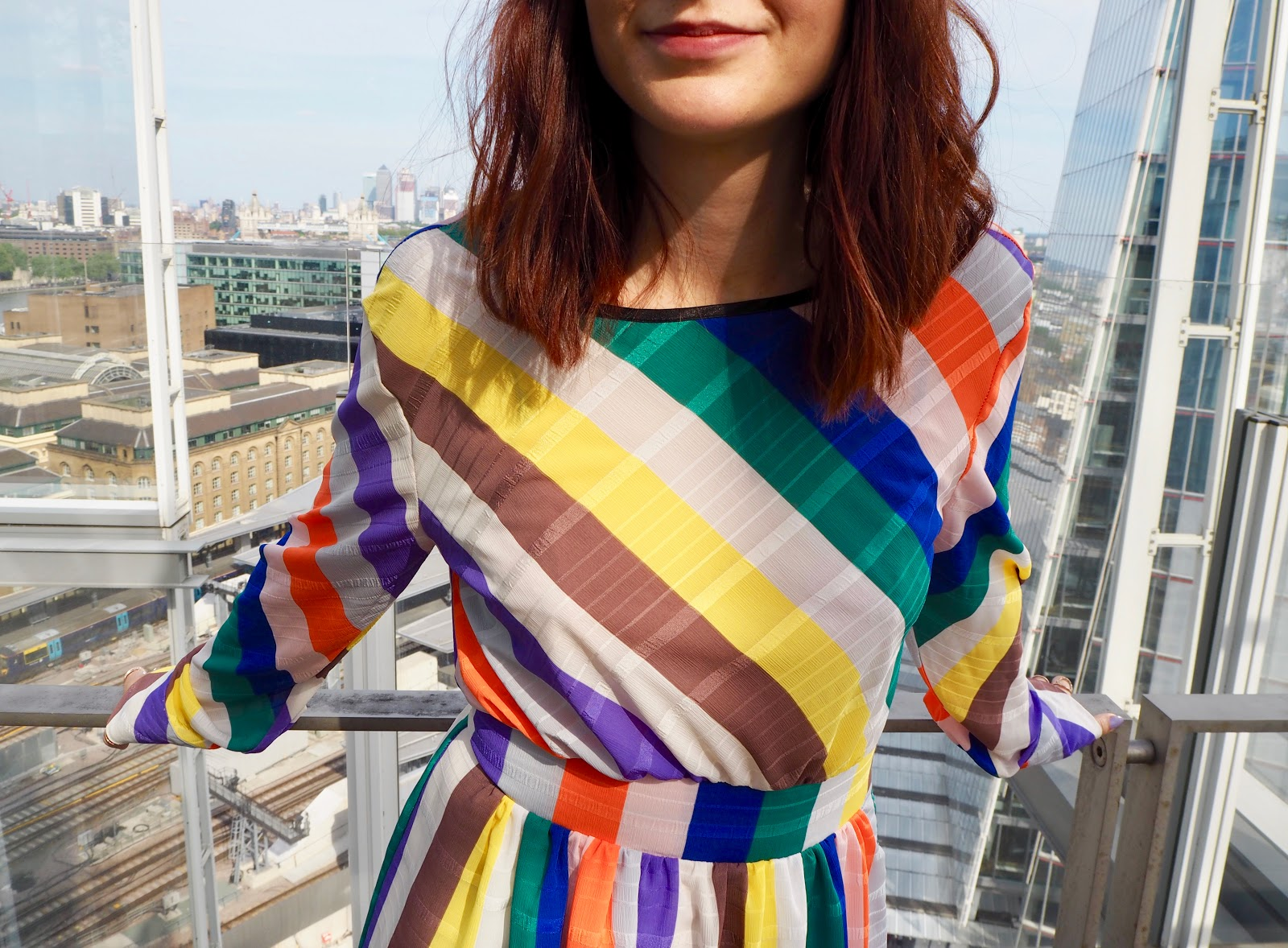 Colour by numbers dress available from Ghospell