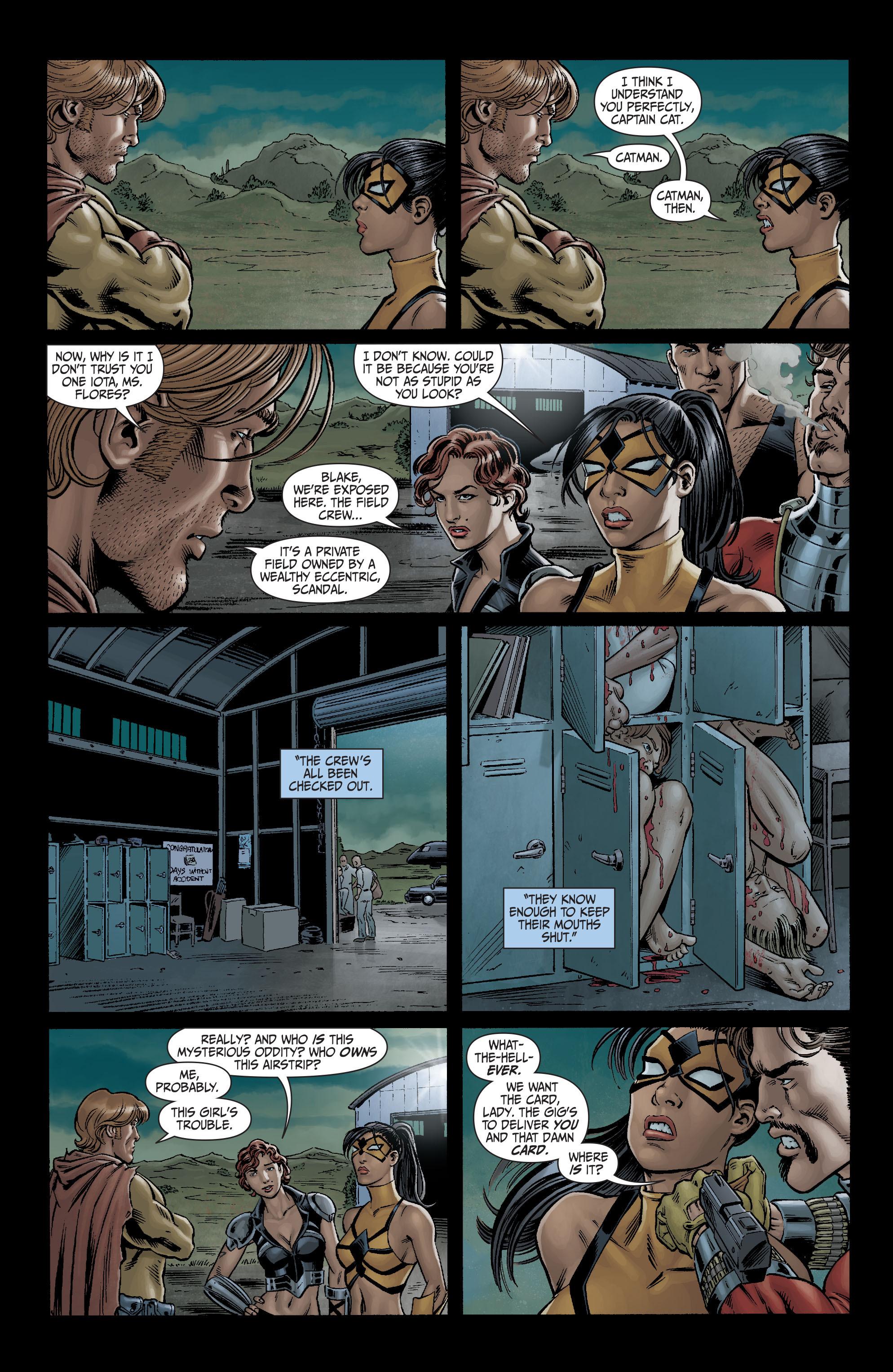 Read online Secret Six (2008) comic -  Issue #3 - 4