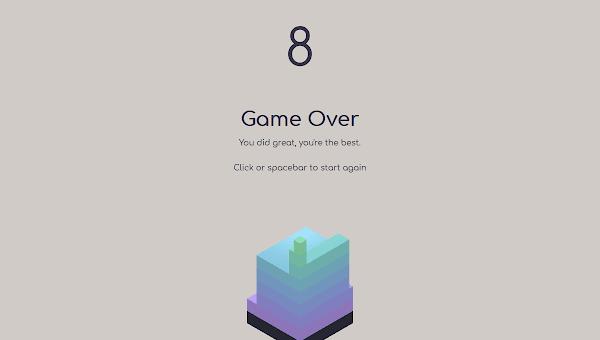 Game Html Keren : Tower Blocks