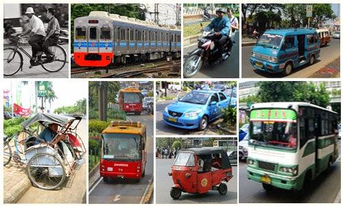 Transportasi Publik di Indonesia