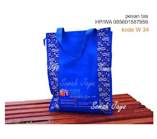 tas seminar kit batik unik murah cantik goody bag tenteng kanvas lurik pelatihan diklat dinas promosi jakarta jogja surabaya bandung