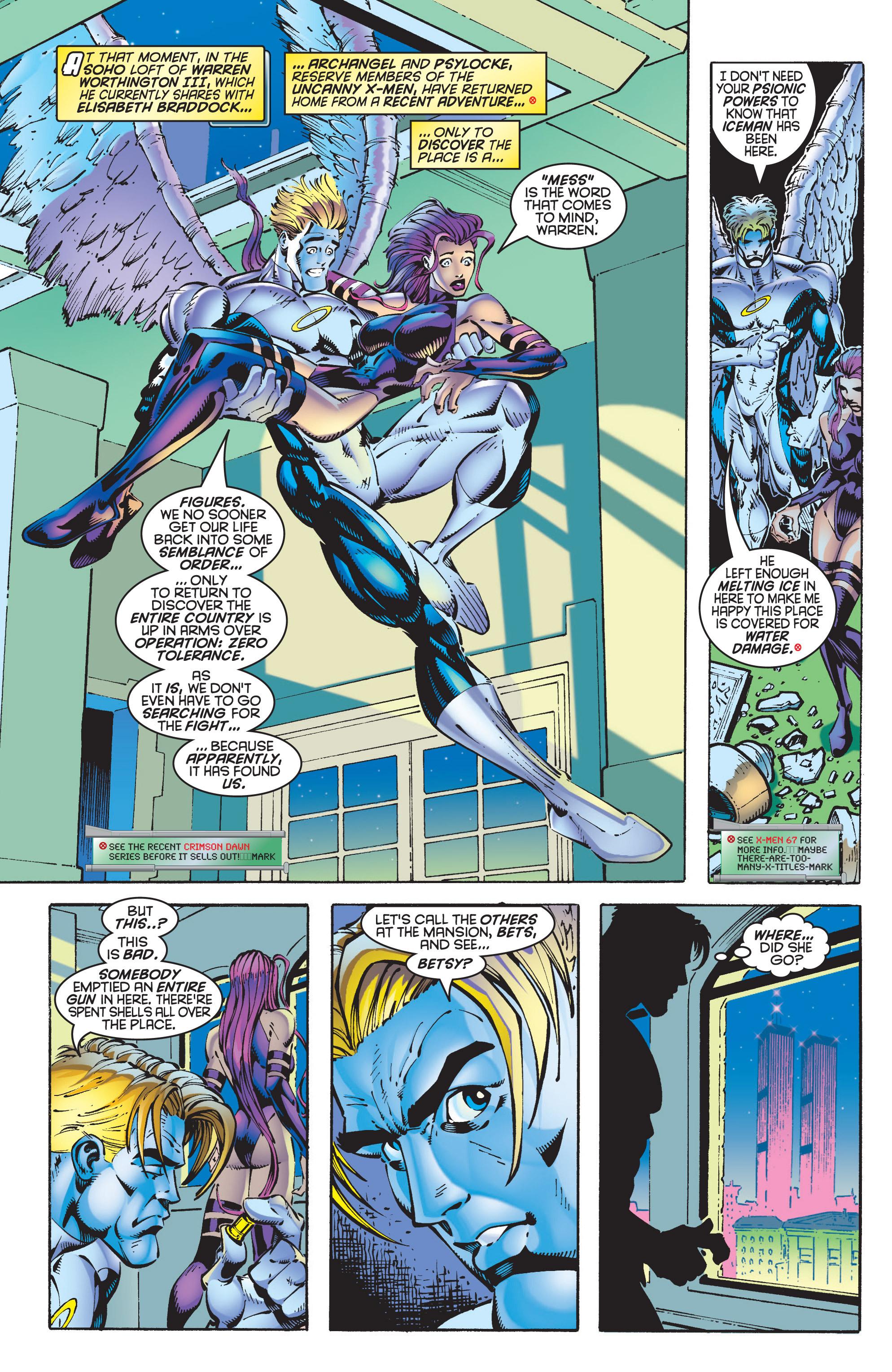 Read online Uncanny X-Men (1963) comic -  Issue #348 - 14