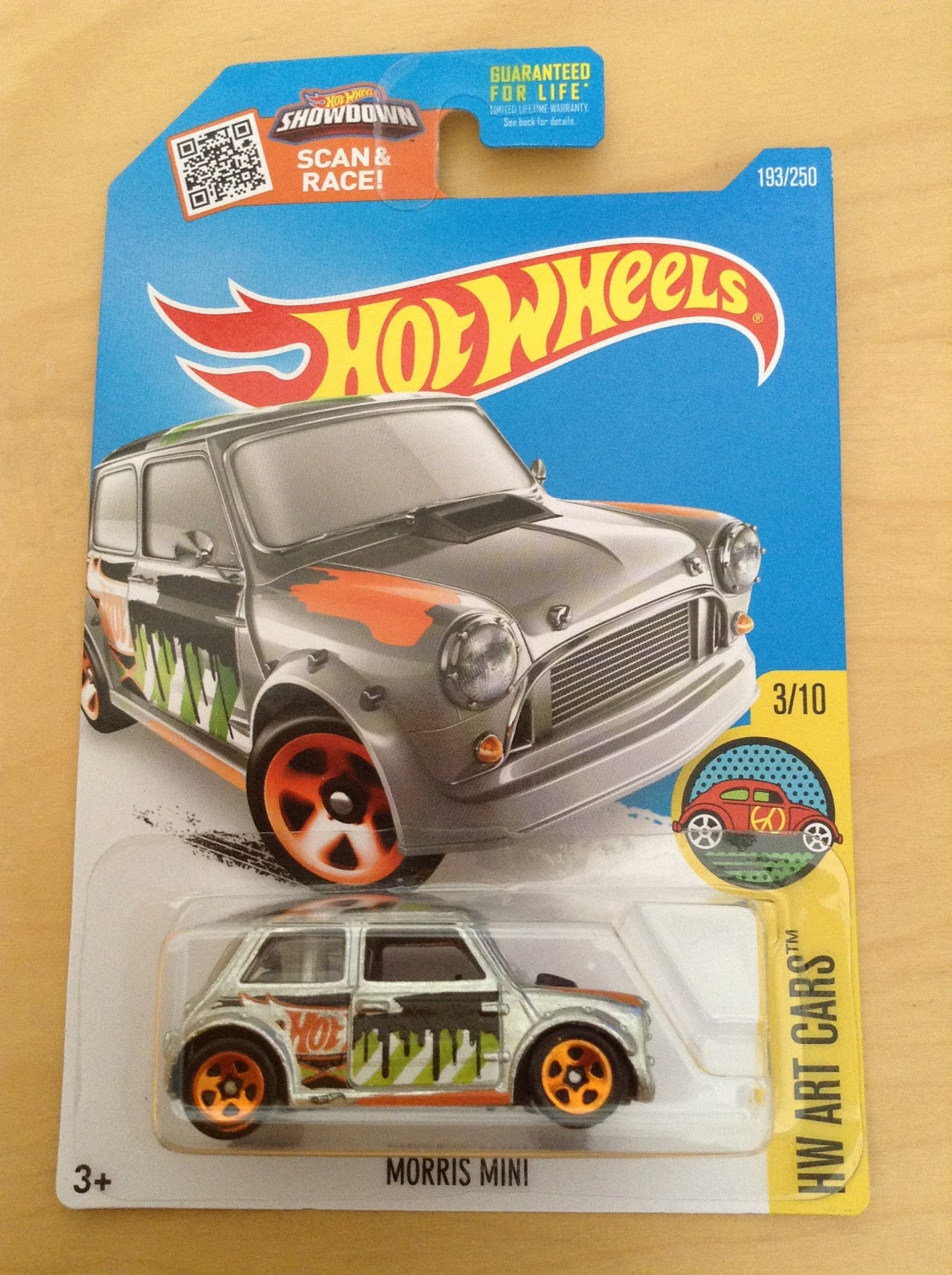 Julian 39 s hot wheels blog morris mini 2016 zamac hw art for 9 salon hot wheels 2016