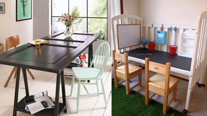 Marzua reutilizar muebles antiguos para decorar - Reciclar muebles antiguos ...