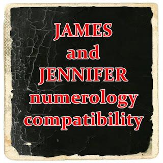 JAMES and JENNIFER numerology zodiac compatibility free calculator