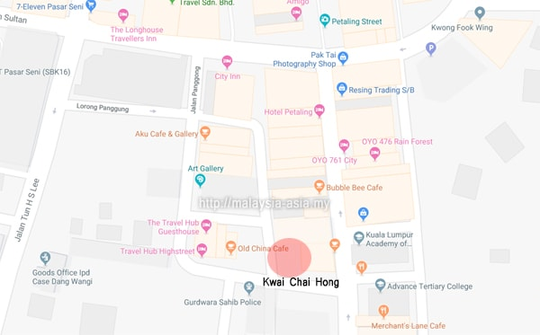 Kwai Chai Hong Location