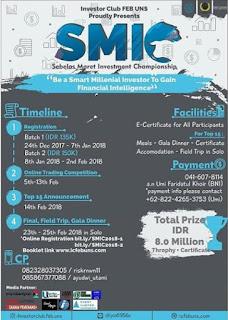 Lomba SMIC 2018 by Univ. Sebelas Maret