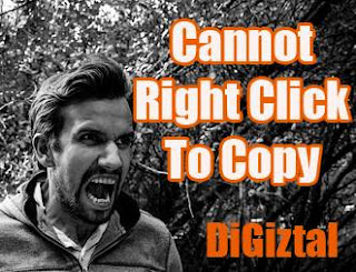 how to overcome no right click on web page