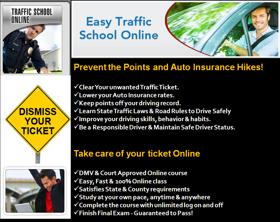 traffic school online defensive driving course state and dmv approved traffic school course. Black Bedroom Furniture Sets. Home Design Ideas
