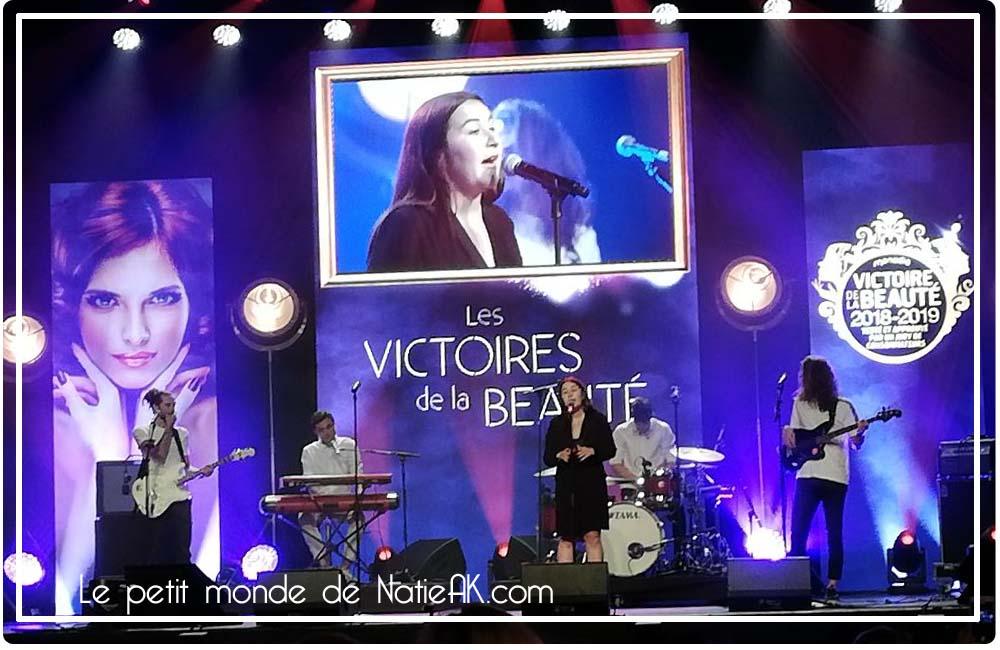Zoé Mansion The Voice à la 16e   édition des Victoires de la beauté