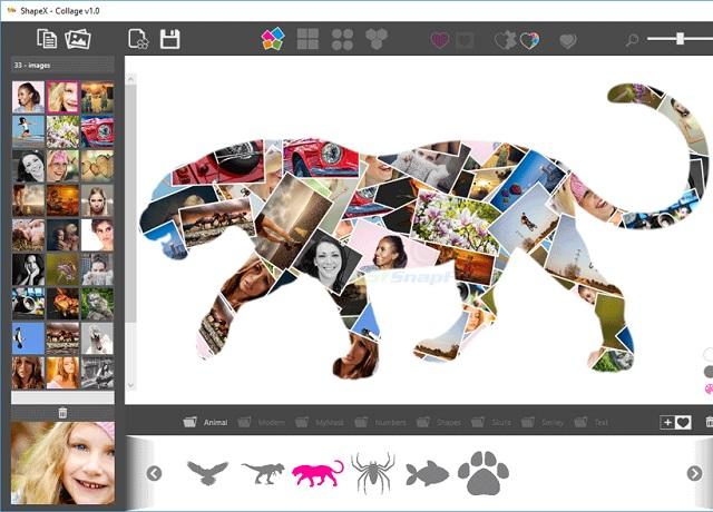 ShapeX - Δημιουργήστε εντυπωσιακά κολάζ φωτογραφιών