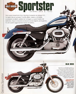 sportster models year 2005