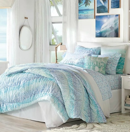 Ocean Bedroom Decorating Ideas: 10 Coastal Bedrooms From Pottery Barn