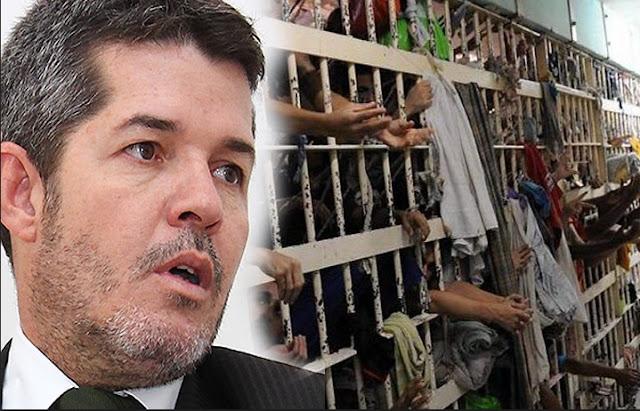 Delegado Waldir Apresenta Projeto Para Que Preso Tenha De Pagar Pelo Custo Da Prisão E Pede Ajuda Do Povo Brasileiro