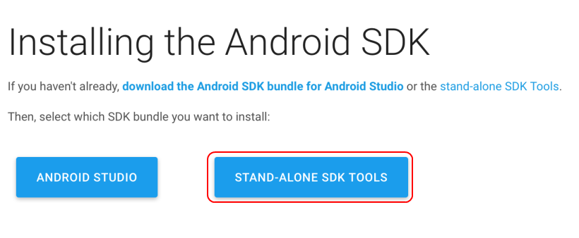 Install & Setup Android SDK and ADB on Mac OSX