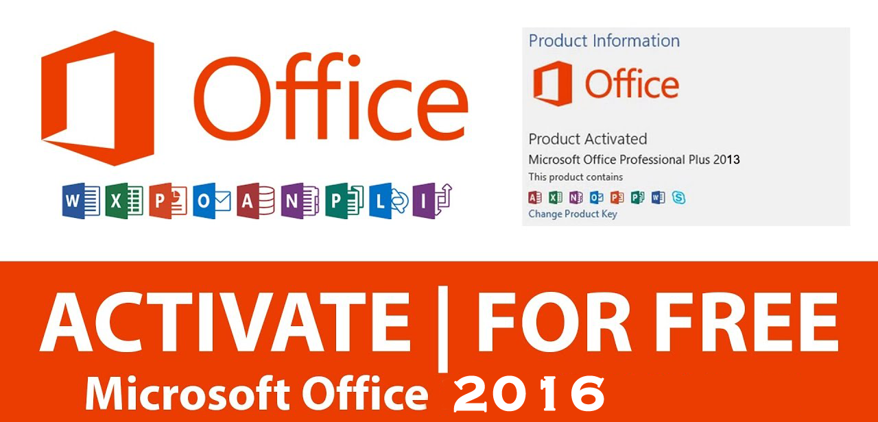 free microsoft office 2016 product key 100 working part 1