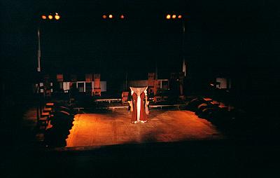 Τα «Γυναικών Πάθη» στο Αμφιθέατρο Σίβηρης, στην Κασσάνδρα Χαλκιδικής, στις 29 Αυγούστου του 1995.