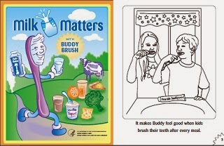 Image: Free Milk Matters colouring book
