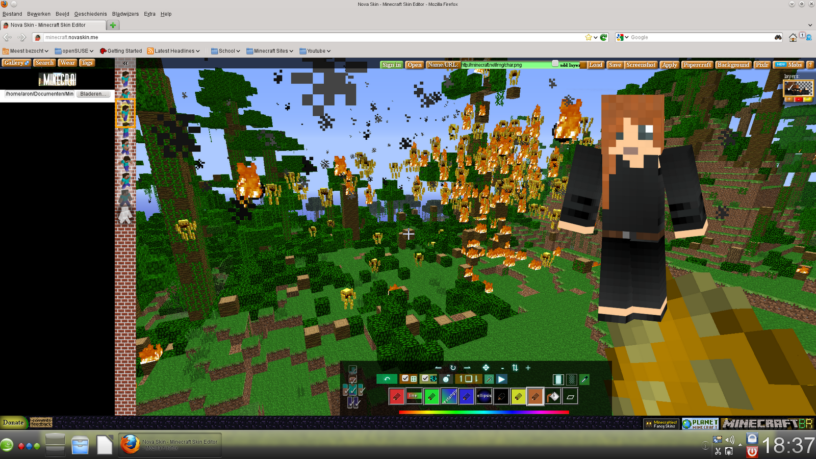 Minecraft Hunger Games Haymitch