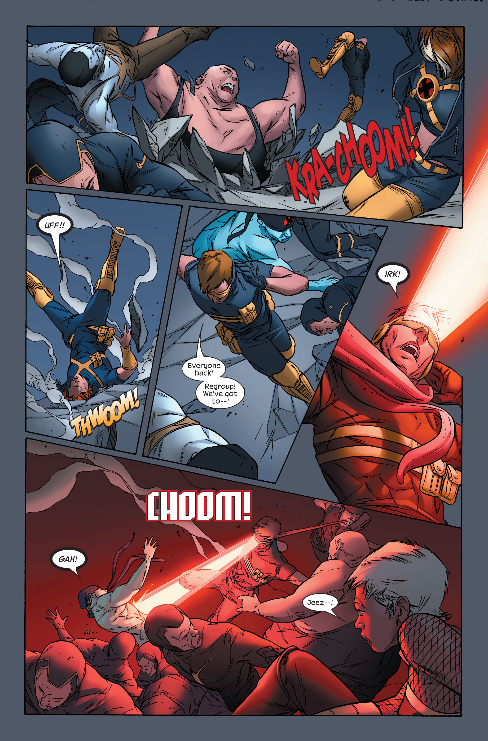 Read online Ultimate X-Men comic -  Issue #71 - 5
