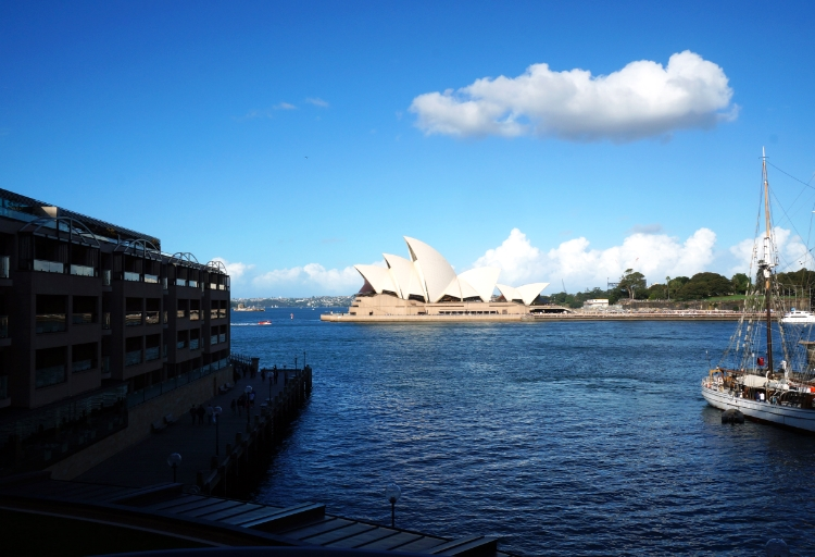Sydney Opera House, view from Park Hyatt, Sydney, Australia, Euriental