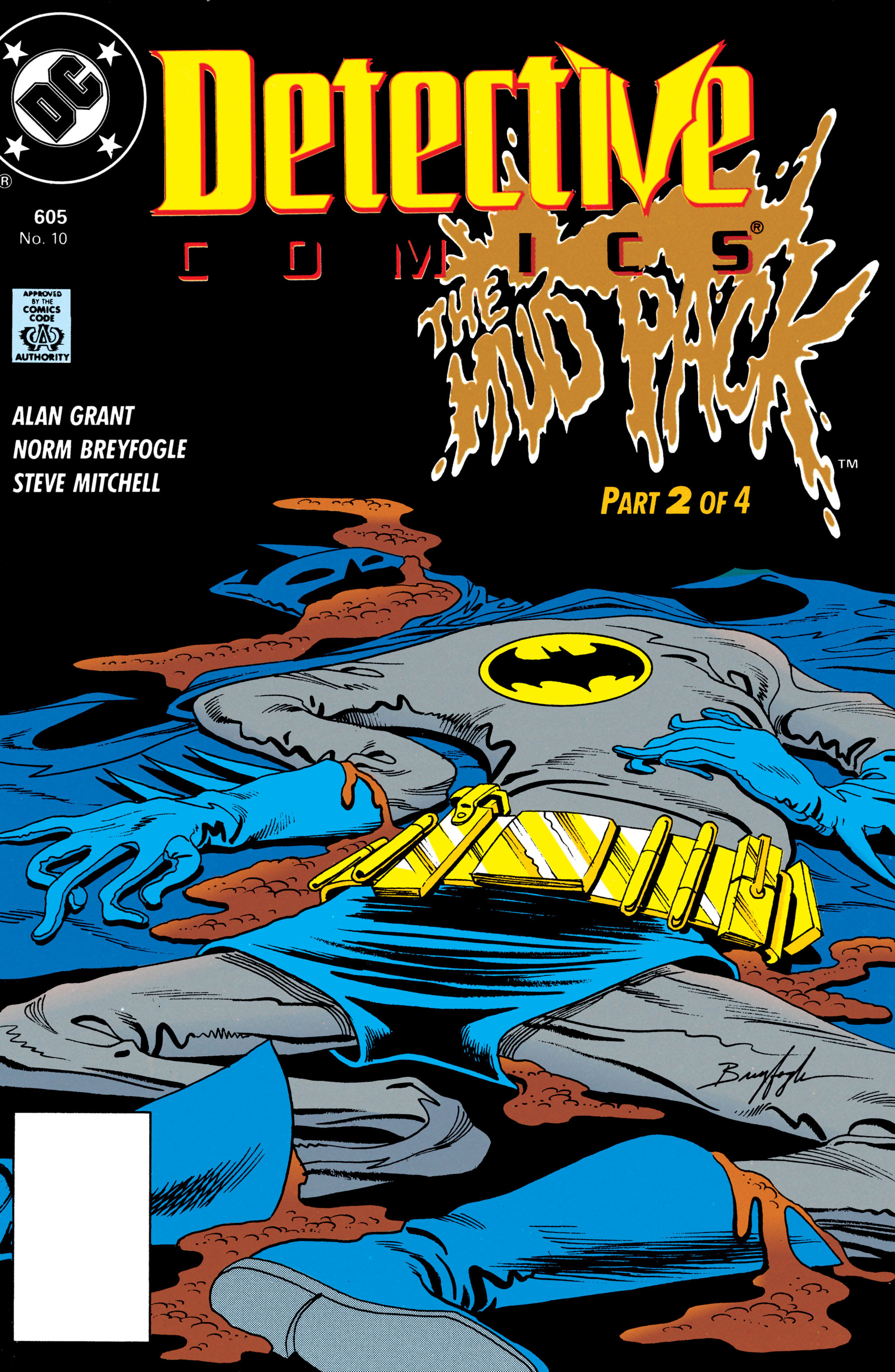 Detective Comics (1937) 605 Page 1